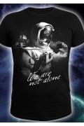 Мужская клубная футболка We are not alone