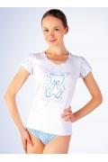 Женская футболка Abili LVS-1203