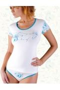 Недорогая женская футболка Abili LVS-1101