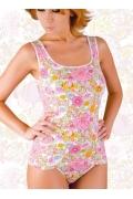 Женская маечка с цветочным рисунком Abili LV-1104