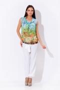 Летняя цветная блузка Remix | 3595