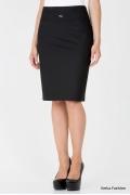 Черная офисная юбка EmkaFashion | 290-brianna