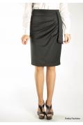 Элегантная черная юбка Emka Fashion | 283-brianna