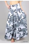 Длинная юбка цветочной расцветки | 288-ornela