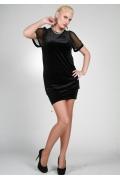 Короткое зауженное платье | 9817