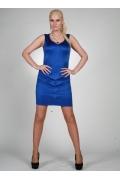 Синее платье без рукавов Chertina & Durre | 9894