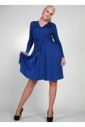 Весеннее платье синего цвета | 0280