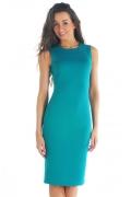 Платье из коллекции 2012 года бирюзового цвета | DSP-04-13t
