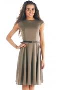 Платье кофейного цвета | DSP-51-26t
