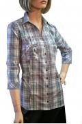 Женская блузка рубашечного кроя | Б794-1448-1447