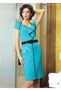 Недорогое голубое платье V&V | 1342.2