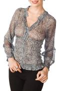 Шифоновая блузка Golub / Б663-998