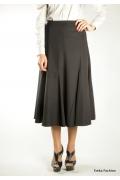 Черная длинная юбка | 296-liana