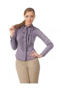 Офисная блузка нежного фиолетового цвета | Б827-1587