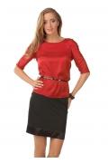 Красная блузка Golub | Б832-1613