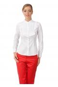 Женская белая рубашка | Б833-724