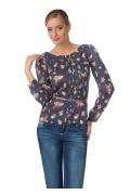 Блузка с цветочным принтом | Б840-1604