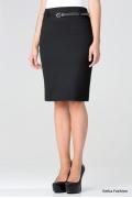 Классическая черная юбка | 202-alfa