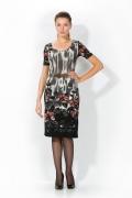 Цветочное платье Remix | 1714