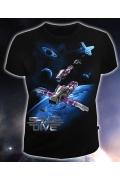 Мужская клубная футболка Space Drive