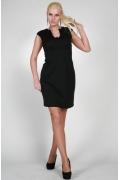 Стильное черное платье | 0129