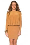 Платье горчичного цвета | DSP-62-5t