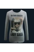 "Серый женский джемпер ""Lady Gaga"""
