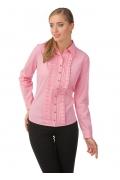 Офисная блузка розового цвета | Б843-1615