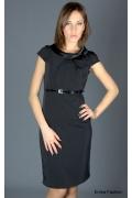 Стильное черное платье российского производства | 200