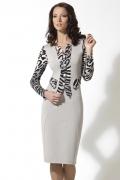 Платье из плотного трикотажа TopDesign | B2 083