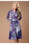 Трикотажное платье Top Design | B1 032