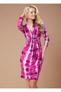 Яркое розовое платье TopDesign | B1 068