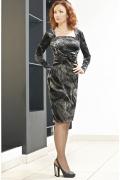 Котейльное платье c длинным рукавом | PB1 23