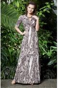 Шикарное длинное платье TopDesign Premium | PA3 08