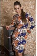 Платье Donna Saggia с длинным рукавом | DSP-98-47t
