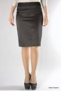 Черная классическая юбка Emka Fashion | 310-goldi