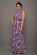Длинное платье из хлопка | П189-2003