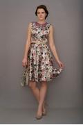 Атласное платье Golub | П190-1479-1761