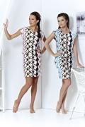 Летнее короткое платье Topdesign | A3 017