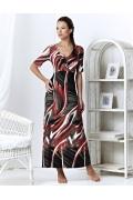 Длинное трикотажное платье TopDesign | A3 081