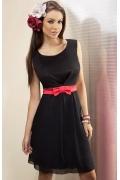 Черное платье Enny | 15031