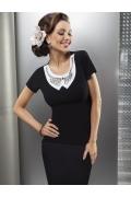 Черная блузка Enny | 15003