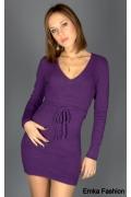 Очень короткое трикотажное платье | 8681b