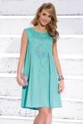 Летнее бирюзовое платье Zaps Frances
