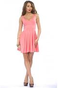 Летнее трикотажное платье Donna Saggia | DSP-23-67t