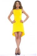 Жёлтое платье Donna Saggia | DSP-46-47