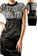 Стильное атласное платье Golub | П88-300-962