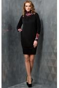 Черное платье TopDesign | B3 097
