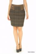 Утепленная юбка Emka Fashion | 401-shirly