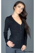 Женская кофта черного цвета | 8039